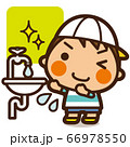 がっこうKids ウイルスに負けない 手洗い男子 66978550