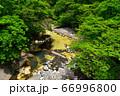 塩原温泉を流れる鹿股川 66996800