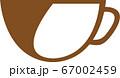 コーヒーカップイラスト 67002459