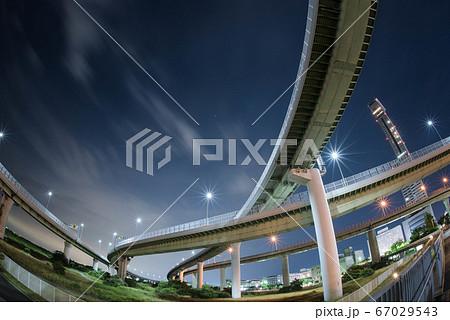 大阪・りんくうジャンクションの夜景 67029543