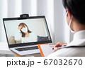 オンライン診療 リモート診療 イメージ 67032670