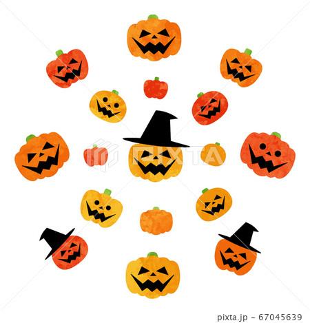 ハロウィーンかぼちゃいろいろセット 67045639