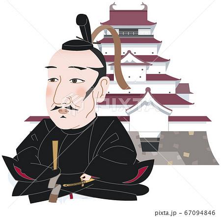 鶴ヶ城と蒲生氏郷 67094846
