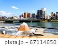 噴水と川 67114650