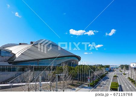 幕張メッセ 幕張イベントホールは九千名収容のドーム型ホール 67119768