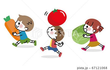 野菜 子ども 食育 67121068
