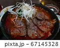刀削麺 麻辣牛肉麺 アップ  67145328