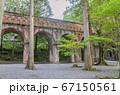京都の南禅寺の水路閣 67150561