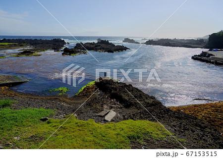 海底火山より噴出した地形が楽しめるジオパーク 67153515