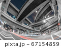 大阪・阿波座ジャンクションの夜景 67154859