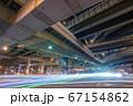 大阪・阿波座ジャンクションの夜景 67154862