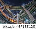 大阪・箱崎ジャンクションの夜景 67155125