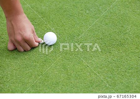 ゴルフボールマーカー 67165304