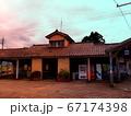 寺田駅駅舎の夕景 67174398