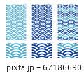 青海波パターン 67186690