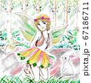 森の妖精 67186711