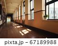 学校の廊下(滋賀県・豊郷小学校旧校舎) 67189988