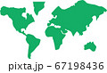 世界地図アイコンイラスト 67198436