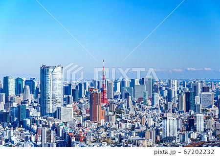 渋谷スクランブルスクエアから見た東京風景 67202232
