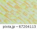 黄色・オレンジ色系抽象的背景素材 水彩画 67204113