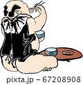 浮世絵 食事 その2 67208908