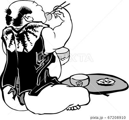 浮世絵 食事 その1 67208910