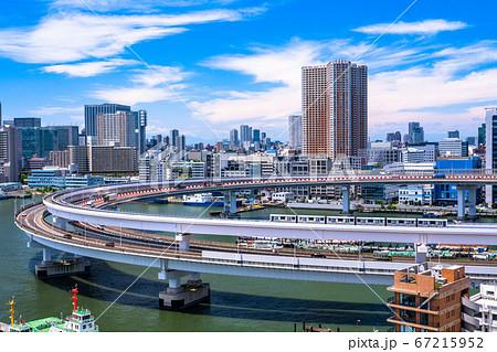 《東京都》レインボーブリッジ・ループ橋 67215952