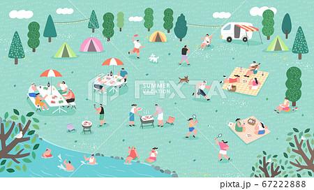 여행,야외,휴가,여름,바캉스,휴식 67222888