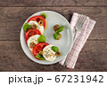 Fresh Caprese Salad. 67231942