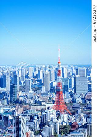 【油絵】東京シティビューからの都市風景【1月】 67235247