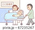 寝たきり要介護者の外来受診 67235267