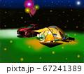 オートキャンプの夜 67241389