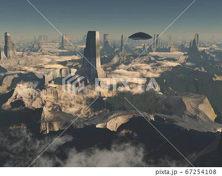 UFO風景 67254108