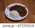 夕食のハッシュドビーフ 67255018