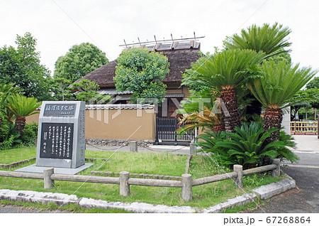 一万円札の福沢諭吉旧居は国指定史跡 67268864