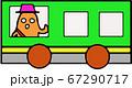 電車に乗って旅する はにわ 67290717