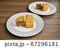 Mooncake, One of Chinese Sweets(中国のお菓子、月餅) 67296181