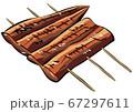 うなぎ(蒲焼き・串焼き) 67297611