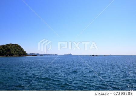 双名島から土佐湾を眺める(高知県 中土佐町) 67298288