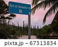 海外の海岸の標識 ニューカレドニア イルデパン 67313834