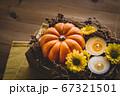 ハロウィン 秋のフラワーアレンジメント 67321501