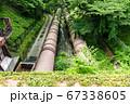 蹴上発電所の導水管(京都府京都市) 67338605