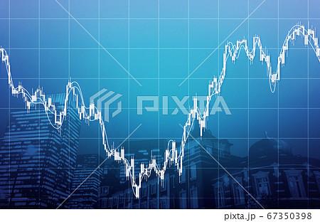 経済イメージ素材 67350398