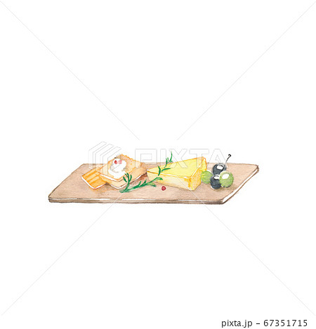 前菜盛り合わせ、素材 67351715