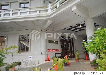 横浜本牧、八聖殿郷土資料館入り口 67354071