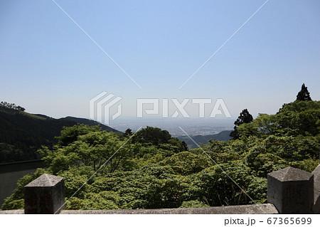 大山阿夫利神社 下社参道からの風景 67365699