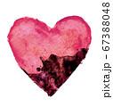 心が病気に蝕まれていくイメージ 67388048