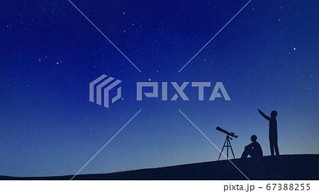 星空の天体観測 67388255