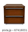 Wooden bedside table 67416031
