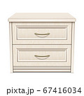 White bedside table 67416034